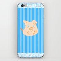 This little piggy.. iPhone & iPod Skin