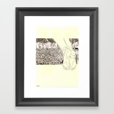 soil Framed Art Print