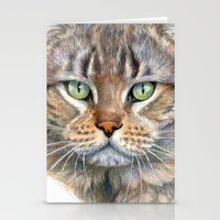 Street Cat portrait CC1402 Stationery Cards