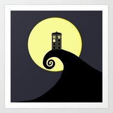 Tardis Nightmare Art Print