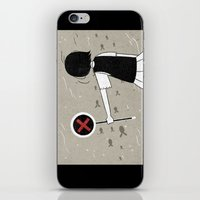 She and fishes iPhone & iPod Skin