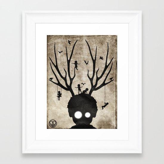 dear imaginary friends Framed Art Print