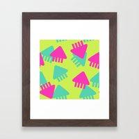 Spl@toon Fabric Framed Art Print