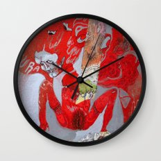 no glove Wall Clock