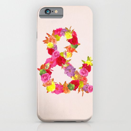 Flower Ampersand iPhone & iPod Case