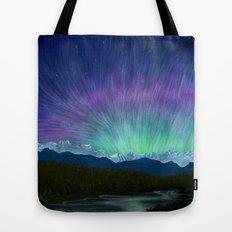Arctic Aura - Painting Tote Bag