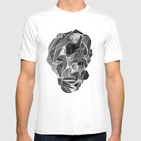 Death Gives No Reason Mens Fitted Tee White SMALL