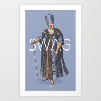 Ottoman No: 2 Art Print