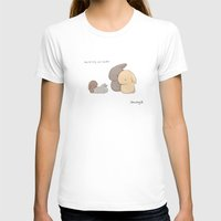 Siblings Womens Fitted Tee White SMALL
