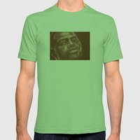 round 8..chad dawson Mens Fitted Tee Grass SMALL