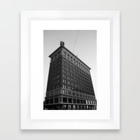 Big G Framed Art Print