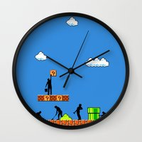 Super Clean Up Wall Clock