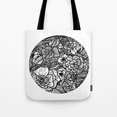 Flowers upon flowers Tote Bag