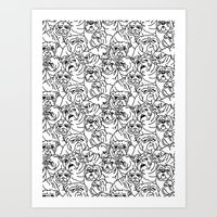 Oh English Bulldog Art Print