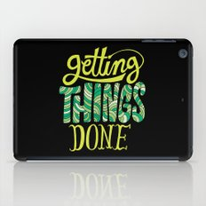 Getting Things Done iPad Case