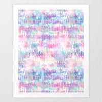 Amelie {Pattern 1A} Art Print
