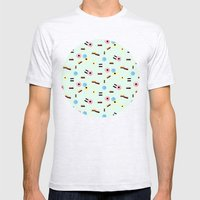 Sweet Things: Allsorts Mens Fitted Tee Ash Grey SMALL