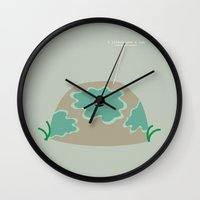 I Lichen You a Lot Wall Clock