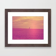 Porto Beach Framed Art Print