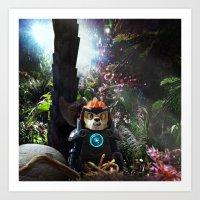 Jungle Planet Art Print