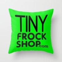 TFS Logo Throw Pillow