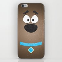 Minimal Scooby iPhone & iPod Skin