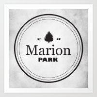 Marion Park Art Print