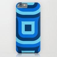 Blue Truchet Pattern iPhone 6 Slim Case