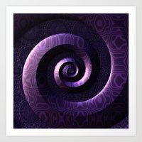 Nagini's Coils Art Print