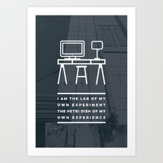 I AM THE LAB - Hilo Art Print