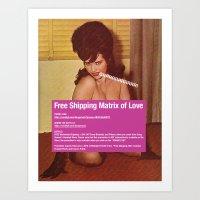 Free Shipping Matrix Of … Art Print