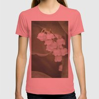 Little Bells - color Womens Fitted Tee Pomegranate SMALL