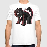 Curse Of The Furry Wereb… Mens Fitted Tee White SMALL