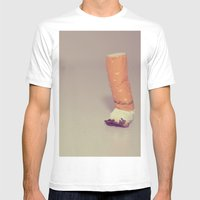 HABIT Mens Fitted Tee White SMALL