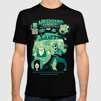 Adventure Comics Mens Fitted Tee Black SMALL