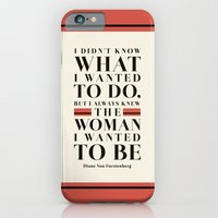 iPhone & iPod Case featuring The Woman I Wanted To Be by Megan Matsuoka