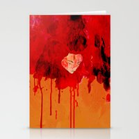 Blood Mania Stationery Cards