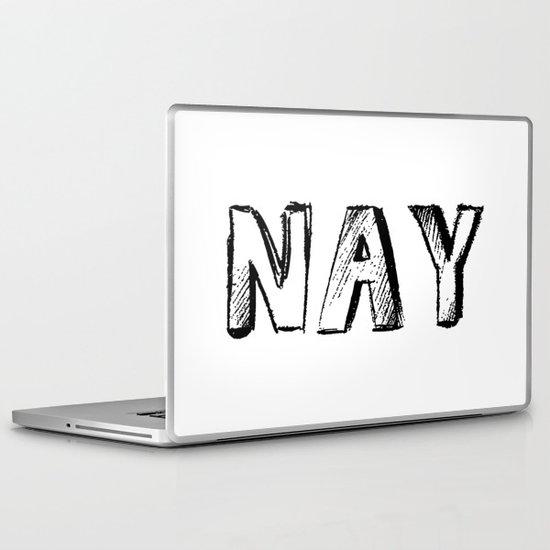 NAY Laptop & iPad Skin