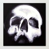Bones II Canvas Print