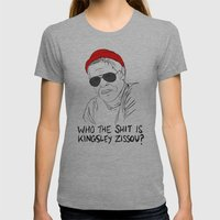 The Life Aquatic - Klaus Womens Fitted Tee Athletic Grey SMALL