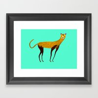 Cheetah  Framed Art Print