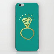 Diamond Ring iPhone & iPod Skin