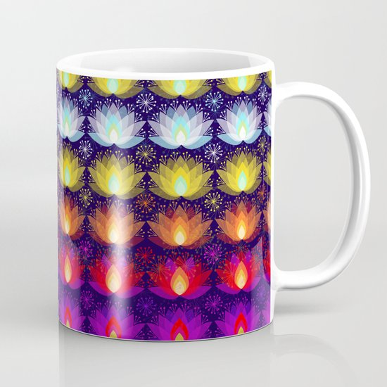 Variations on a Lotus I - Sparkle Brightly Mug