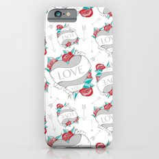 Heart Tattoo pattern Slim Case iPhone 6s