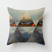 Run, Whale, Run!! Throw Pillow