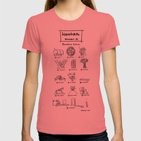 Hannibal - Season 2: Bloodless Edition! Womens Fitted Tee Pomegranate SMALL