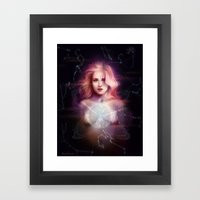 its in the stars Framed Art Print