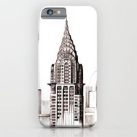 iPhone & iPod Case featuring Chrysler Building, NYC by Littlemess