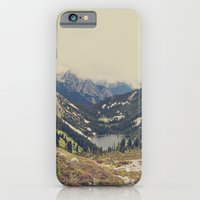 iPhone Cases featuring Mountain Flowers by Kurt Rahn