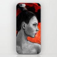 Red Warrior iPhone & iPod Skin